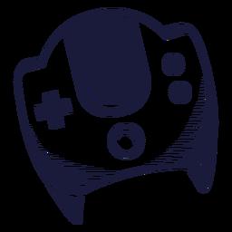 Ilustración de juegos Dreamcast de la vieja escuela