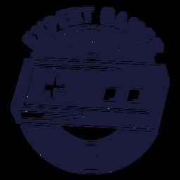 Ilustración de jugador de la vieja escuela