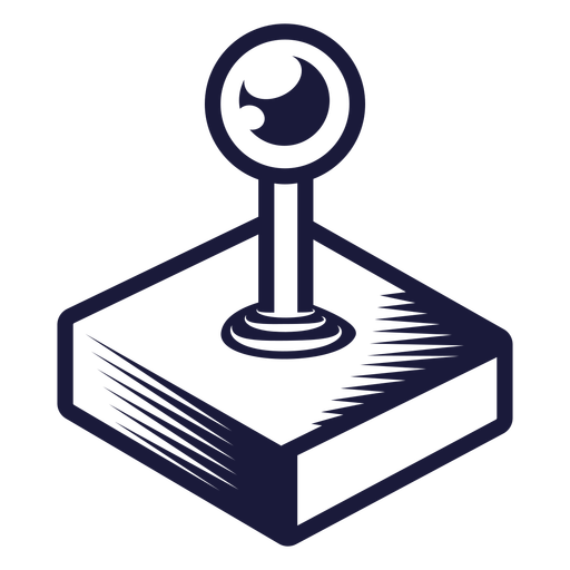 Ilustração de joystick oldschool Transparent PNG