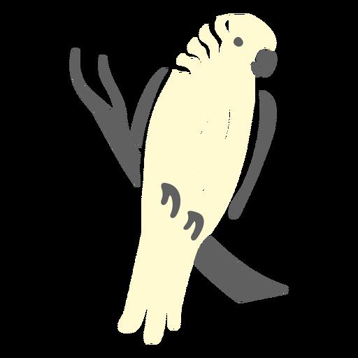Parrot animal doodle design