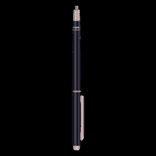 Point pen black illustration Transparent PNG