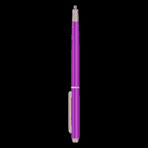 Point pen realistic design Transparent PNG