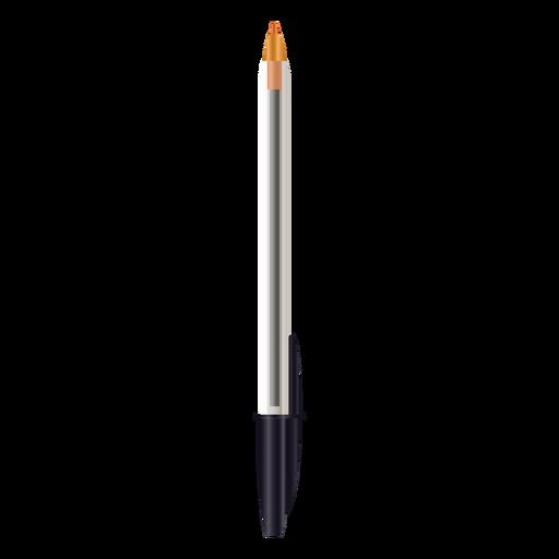 Realistic pen design capless Transparent PNG
