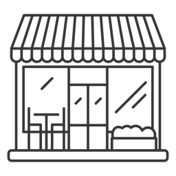 Restaurant facade design