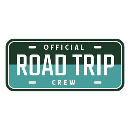 Road trip crew car board design