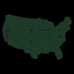 Mapa geográfico da viagem