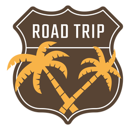 Road trip vintage frame