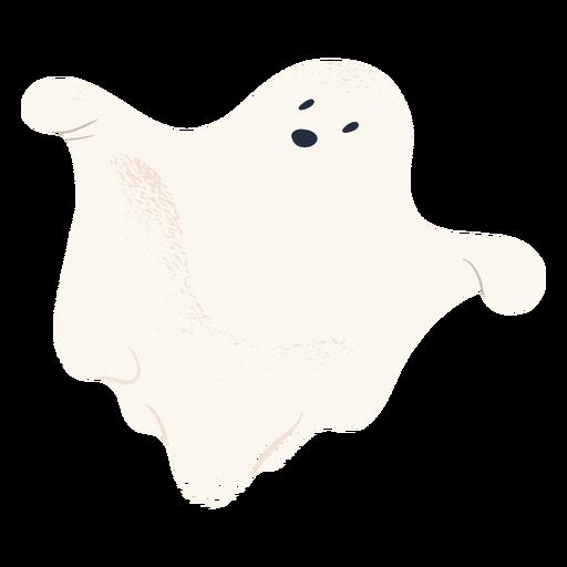 Personagem de halloween fantasma assustador