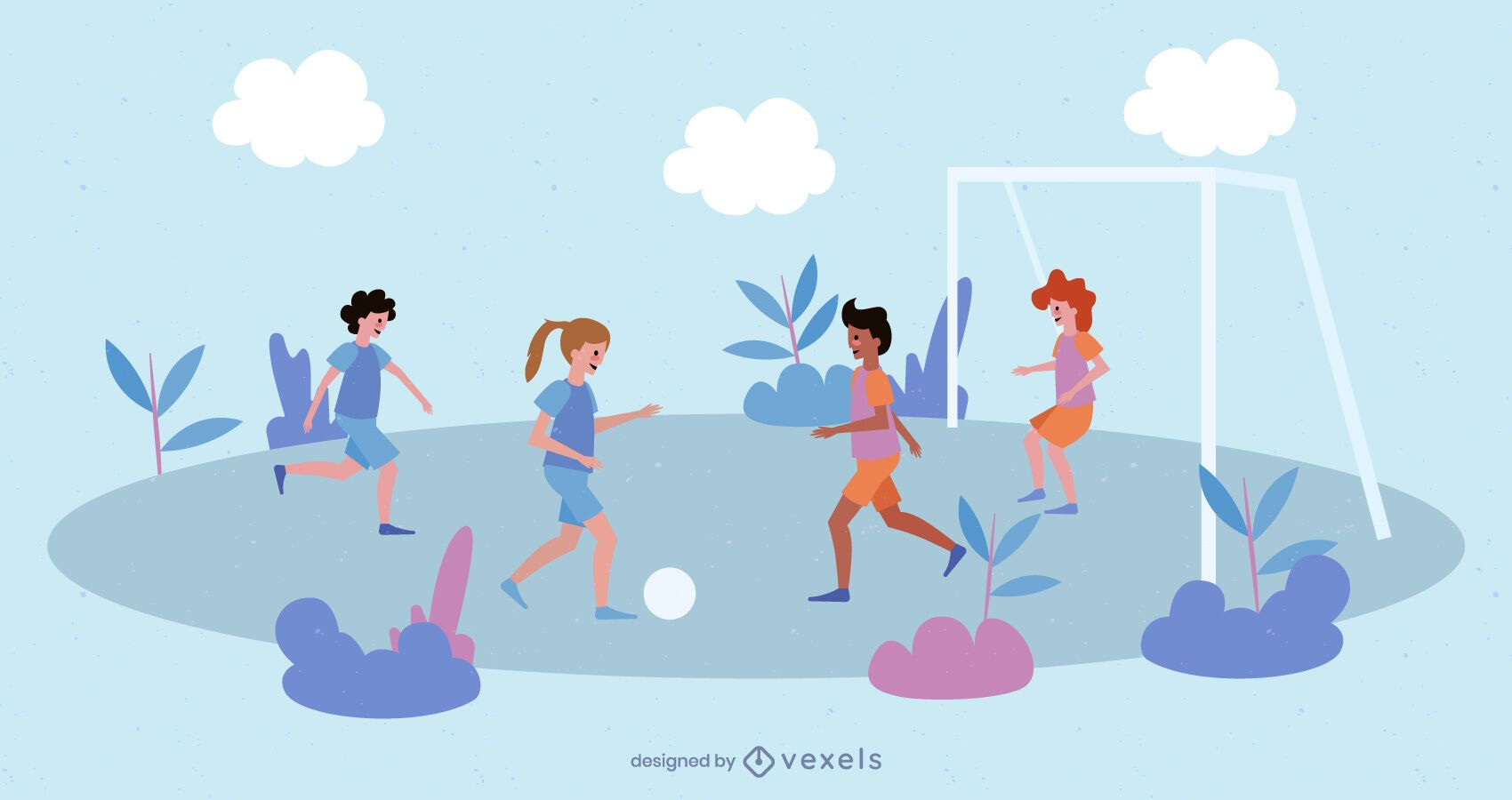 Girl Football People Pack