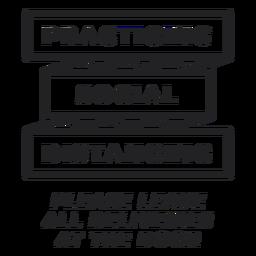 Social distancing covid sign