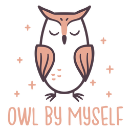 Sparkly owl cute design