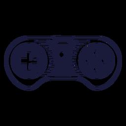 Ilustración de joystick super nintendo
