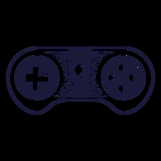 Ilustração de joystick super nintendo Transparent PNG