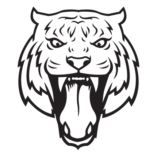 Tiger attack head stroke