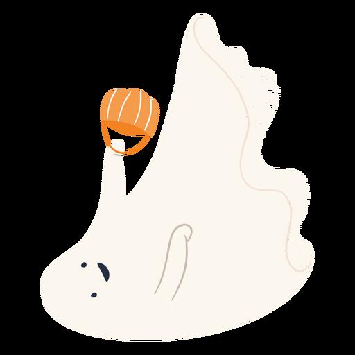 Truco o trato personaje fantasma
