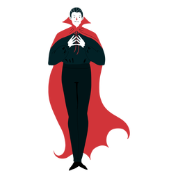 Vampire character coat
