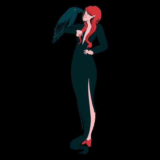 Vampiress character raven