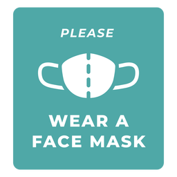 Wear face mask warning quote