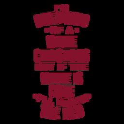Desejando um saco de vinho branco de Natal