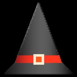 Diseño de sombrero clásico de bruja
