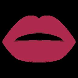 Ícone de lábios de mulher