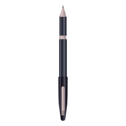 Writing pen black realistic design
