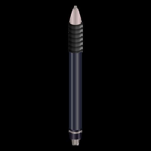 Writing black pen realistic design