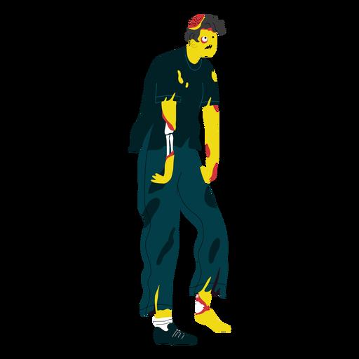 Criatura de personaje zombie