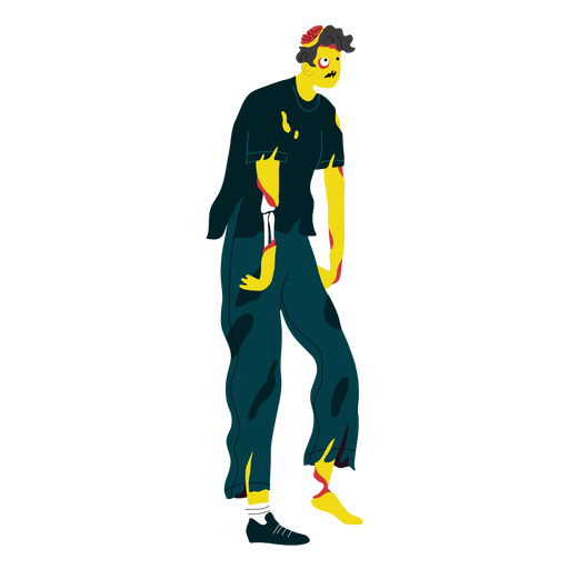 Zombie character creature Transparent PNG