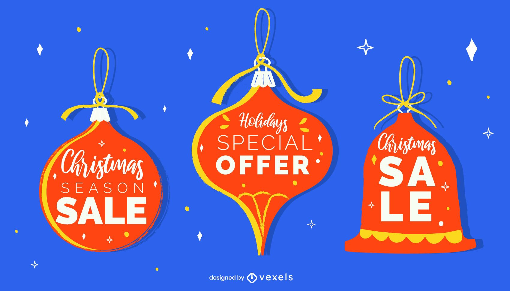 Christmas Ornament Sale Tags Pack