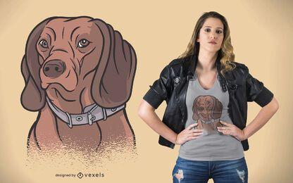 Diseño de camiseta de perro de montaña bávaro