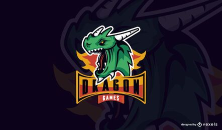 Dragon Games Logo Vorlage