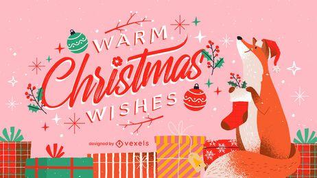 Navidad cálida desea letras