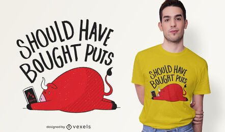Diseño de camiseta Stock Trading Quote