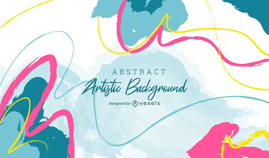 Colorful artistic background design
