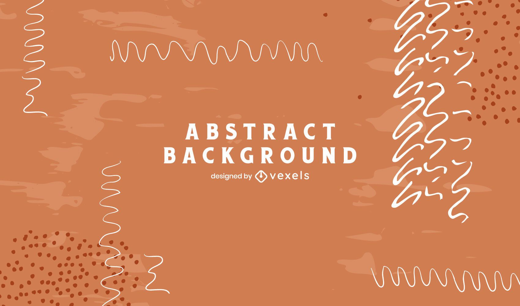 Artistic abstract lines background design