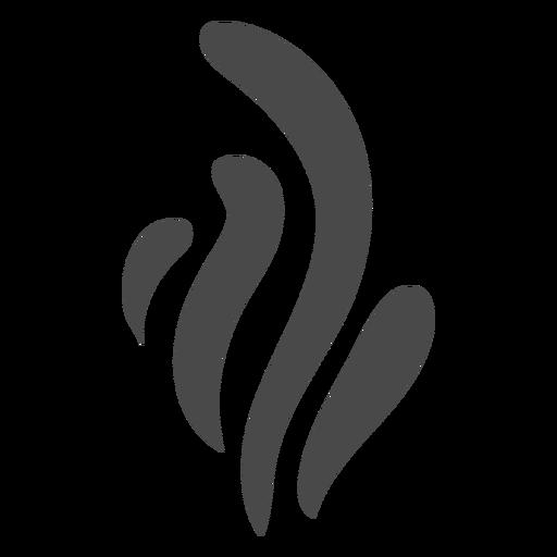 Icono de humo abundante
