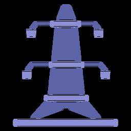 Antenna silhouette design