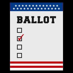 Elemento de elecciones en Estados Unidos