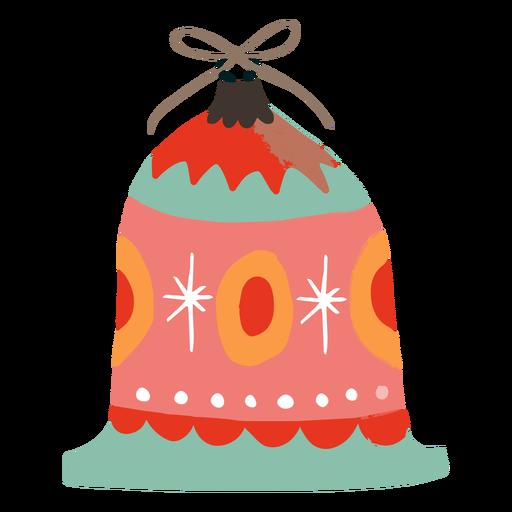 Bell shaped ornament decoration Transparent PNG