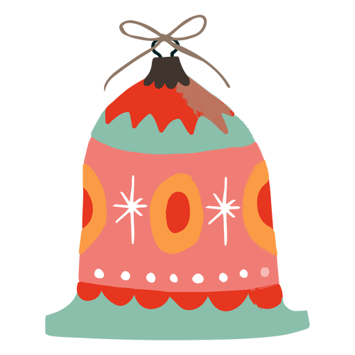 Bell shaped ornament decoration