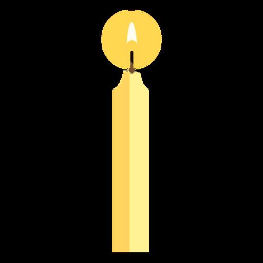 Candlestick flat design
