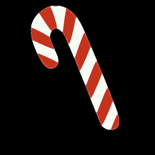 Candy Cane Weihnachtsessen flach