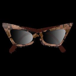 Gafas de sol de moda ojo de gato brillantes