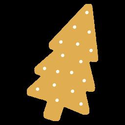 Christmas tree flat design