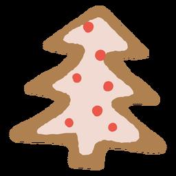Biscoito de gengibre de árvore de Natal
