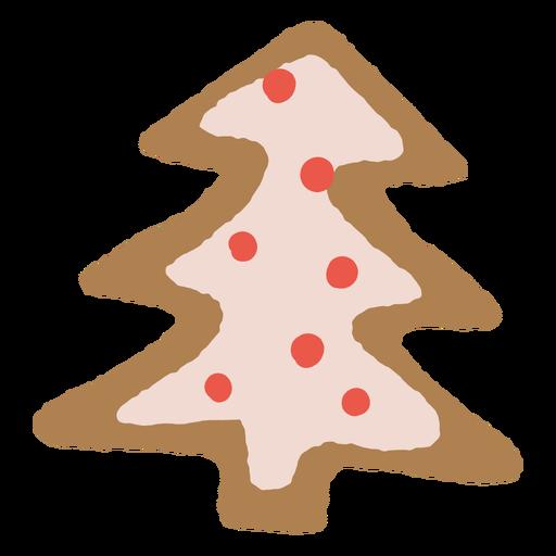 Galleta de jengibre de árbol de Navidad Transparent PNG