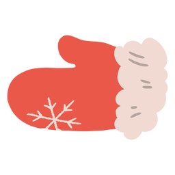 Christmas cooking gloves illustration
