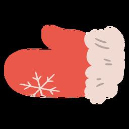 Ilustração de luvas de cozinha de Natal