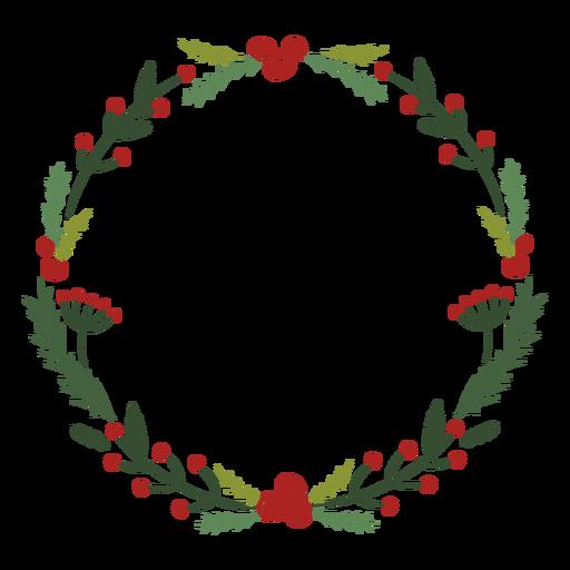 Guirnalda de navidad decoracion tradicional Transparent PNG